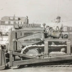 One of our first bulldozers.